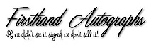 Firsthand Autographs's Company logo