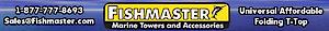 Fishmaster Universal T-top's Company logo