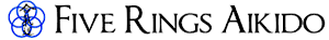 Five Rings Aikido's Company logo