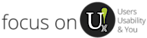 focus on U's Company logo