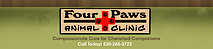 Four Paws Animal Clinic, Nevada City, Ca's Company logo