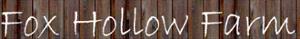 Fox Hollow Farm's Company logo