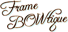 Frame Bowtique's Company logo