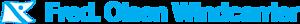 Fred. Olsen Windcarrier's Company logo