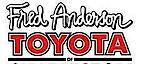 Fred Anderson's Toyota's Company logo