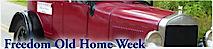 Freedom Old Home Week's Company logo