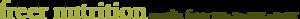 Freer Nutrition's Company logo
