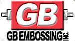 G B Embossing's Company logo