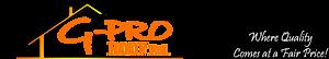 G-pro Roof's Company logo