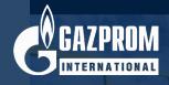 Gazprom's Company logo