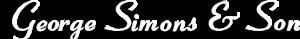 George Simons & Sons Jewelers's Company logo