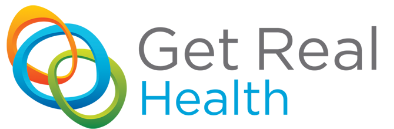Image result for get real health logo