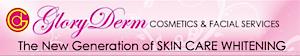 Gloryderm Cosmetics. Shopping Cart's Company logo