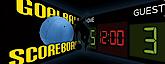 Goalball Scoreboard & John Mulhern's Company logo