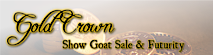 Gold Crown Show Goat Sale & Futurity's Company logo