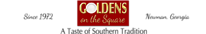 Goldens On The Square Restaurant And Catering's Company logo