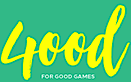 Good Games. Proudly created with Wix.com's Company logo