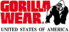 Ryderwear's Competitor - Gorilla Wear U.s.a logo