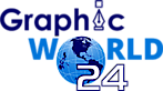 Graphic World 24's Company logo
