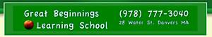 Great Beginnings Learning School - Danvers Ma's Company logo