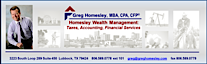 Greg Homesley Mba Cpa Cfp / Homesley Wealth Management's Company logo