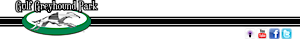 Gulf Greyhound Park's Company logo