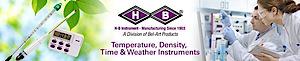 H-b Instrument's Company logo