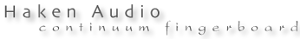 Haken Audio's Company logo