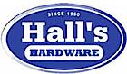 Halls hardware's Company logo