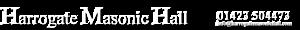 Harrogate Masonic Hall's Company logo