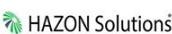 HAZON's Company logo