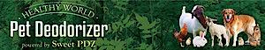 Healthy World Pet Deodorizer's Company logo