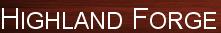 Highland Forge's Company logo