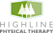 Advanced Physical Therapy's Competitor - Highline Physical Therapy logo