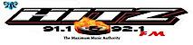 Hitz91fm- St. Lucia (The Maximum Music Authority's Company logo