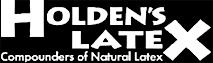 Holden's Latex's Company logo