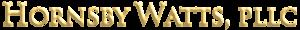Hornsby Watts, Pllc's Company logo