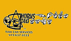 Horus Taxicab's Company logo