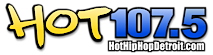 Hot 107.5's Company logo