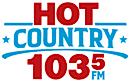 Hot Country 103.5 CKHZ-FM's Company logo