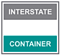 Interstate container's Company logo