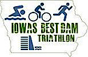 Iowa's Best Dam Triathlon's Company logo