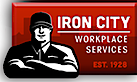 Iron City Uniform's Company logo