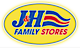 Kasm Radio 1150am's Competitor - Jh Family Stores logo