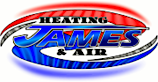 James Heating & Air's Company logo