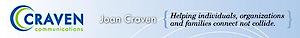 Joan Craven: Author, Speaker, Communications Consultant's Company logo