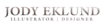 four east's Competitor - Jody Eklund logo