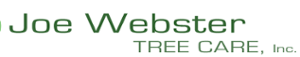Joe Webster Tree Care's Company logo