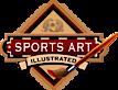 Justyn Farano, Sports Art Illustrated's Company logo