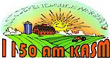 Kasm Radio 1150am's Company logo